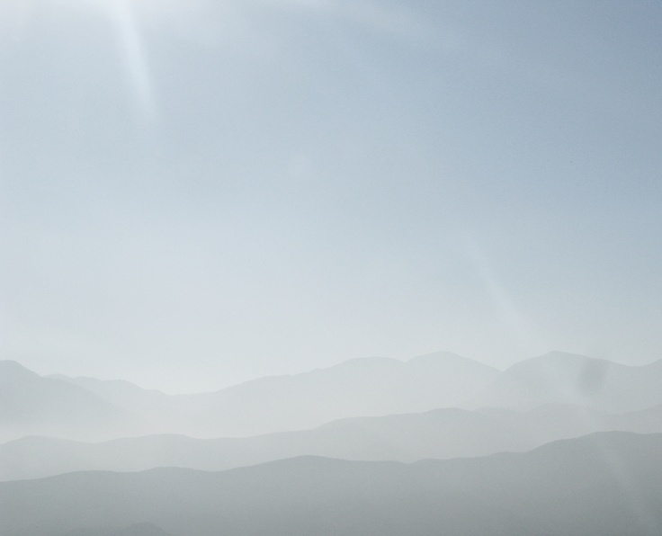 Between LA and Palm Springs - Calefornia . . .