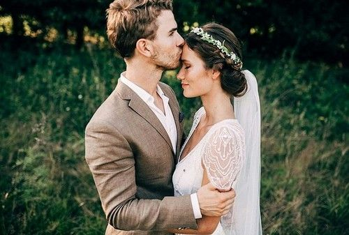 Wedding cute -  hippie  love