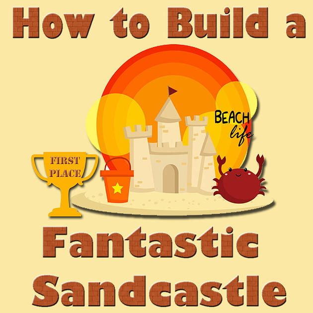 Campers Cove #Campground #Wheatley #ChathamKent #Ontario #TourismChathamKent #DiscoverON #CampingInOntario - How to Build a Fantastic Sandcastle