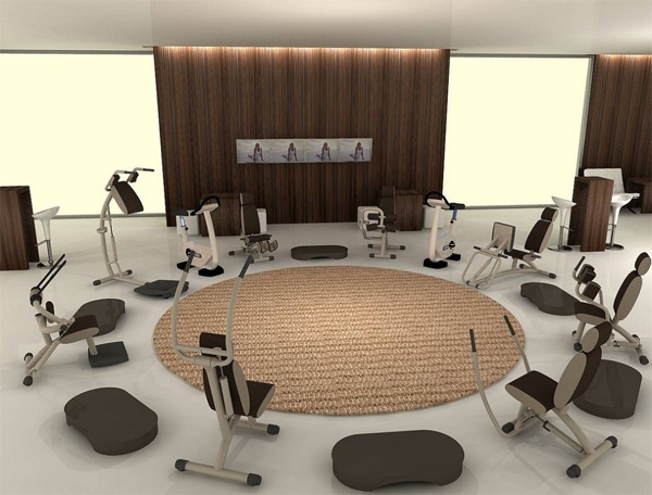 Best gym images on pinterest exercise rooms and