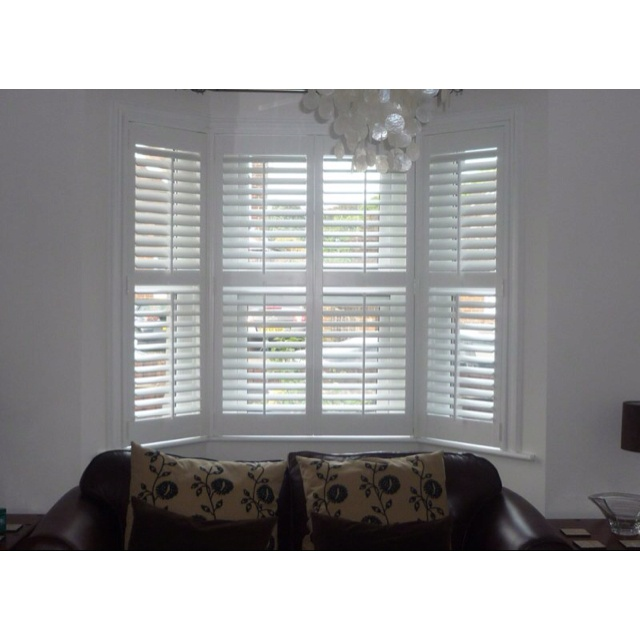 Idea For Bay Window Blinds
