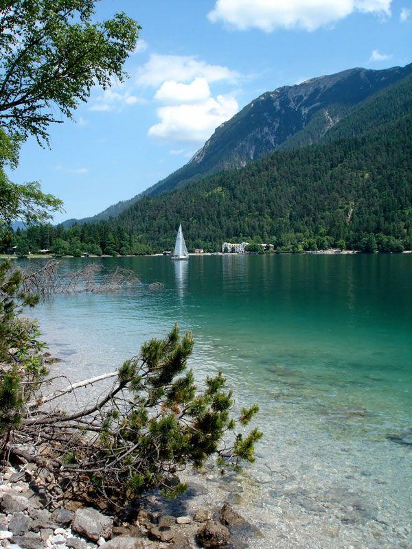 Sailing on emerald, Achensee, Austria Copyright: Samuele Bianco