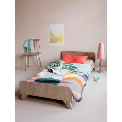 BB+++ Deco Deco Bed available in Pink, Oak and Green | at designstuff