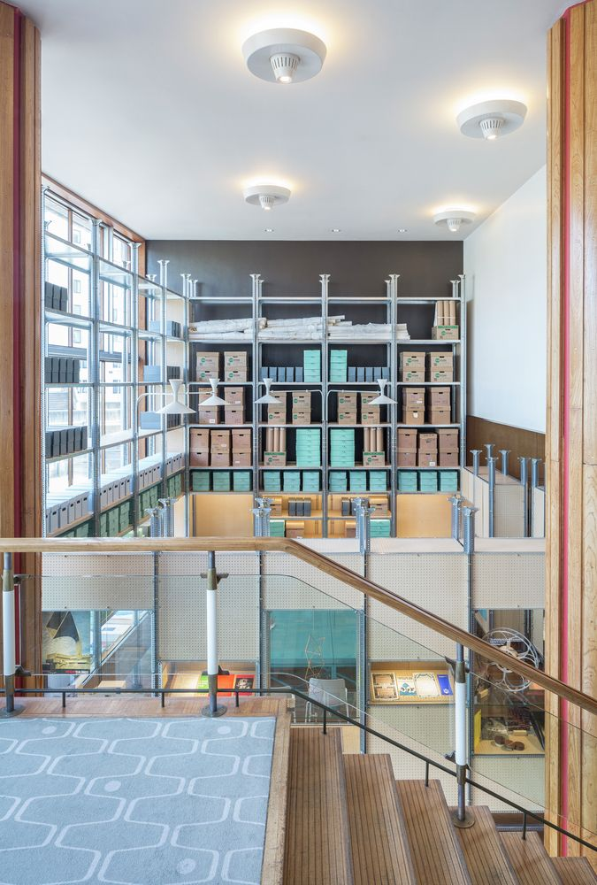 Gallery - Installation at London's Southbank Centre Opens Archive to the Public - 1