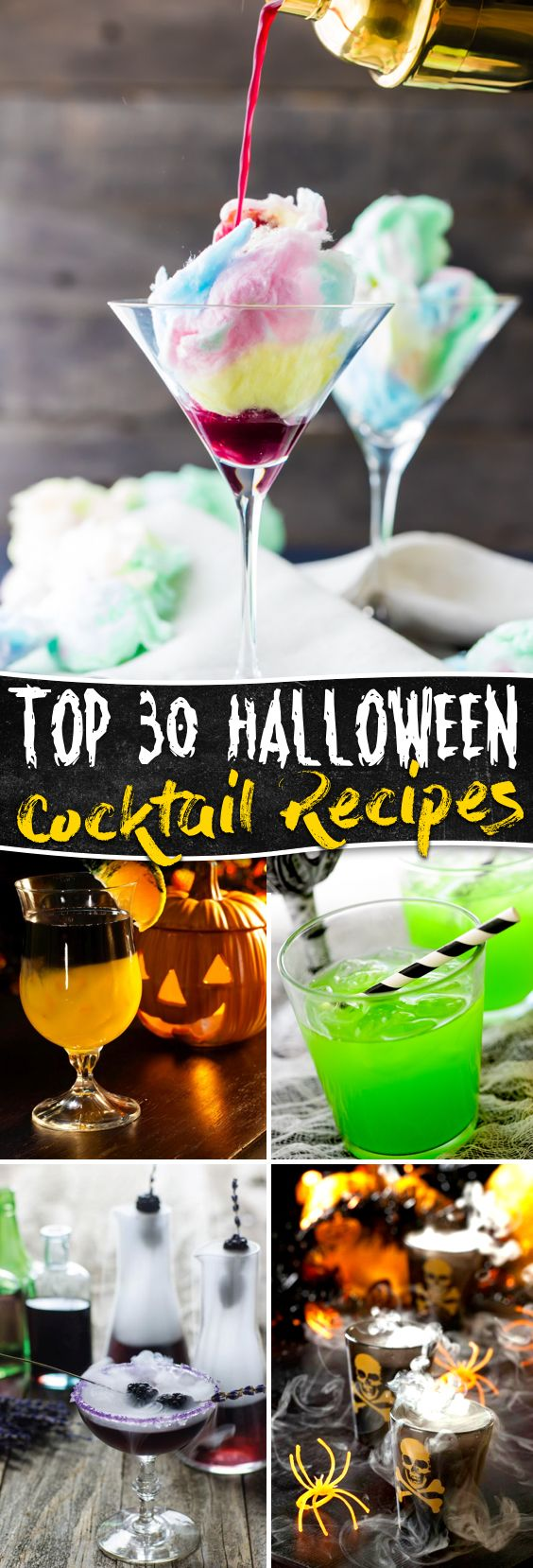 These 30 Halloween Cocktail Recipes Are Synonymous to True Spookiness