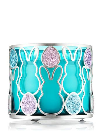 Glittered Easter Bunny 3-Wick Candle Sleeve - Bath And Body Works