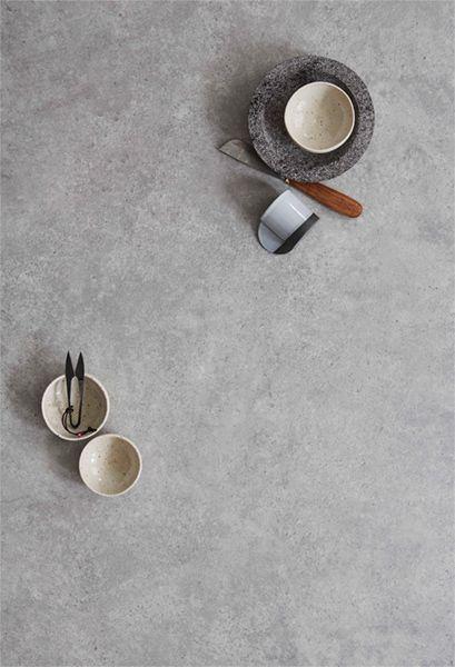 Stoere betonlook met vinyl #watisjouwstijl #woonstijlen #inspiratie #stoer #beton #industrial #keramiek #interieur #vloeren
