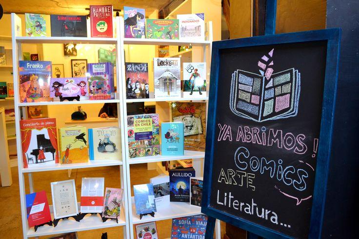 Nuestra librería se encuentra ubicada en Galería Estación Italia, Av. Italia 1439, local 11S, Providencia, Santiago de Chile.
