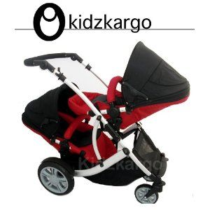 Duellette Twin Tandem Pushchair
