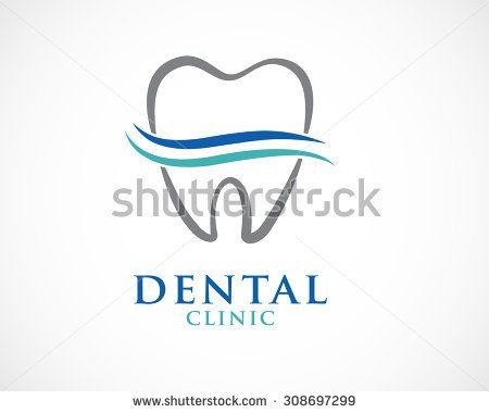 tooth dental logo design