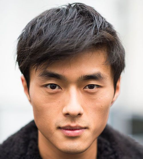 Hairstyle For Square Face Asian Male : Best asian men hairstyles ideas on