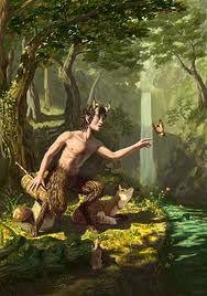 Nati dall'unione di Mercurio con la ninfa Istima, sono ricorrenti nella mitologia greca e romana, queste creature sono rappresentate con aspetto umano, piccole corna sulla testa, lunghe orecchie, piedi di capra e una piccola coda. Molto pelosi amano suonare rudimentali strumenti a fiato in legno, come pifferi e flauti, si dedicano alla caccia e abitano in grotte e boschi dove si aggirano per adescare le ninfe