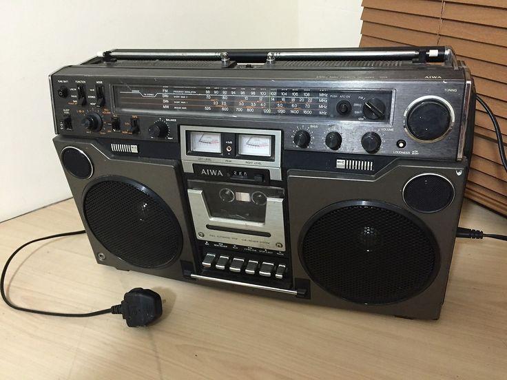 Vintage Aiwa TPR-950AH Cassette recorder, Ghettoblaster ...