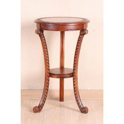 @Overstock - Display your personal belongings in style on this beautiful round stand in oak finish. The hand-carved and scrolled design adds rich detail to the legs and top of this stand for an elegant touch to enhance your living room or any bedroom in your home.http://www.overstock.com/Home-Garden/Shangri-La-Hand-carved-Rich-Oak-Round-Stand/5587993/product.html?CID=214117 $146.99