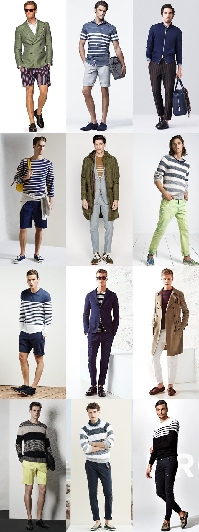 5 Trends To Master For 2015 Spring/Summer : 1) Statement Stripes Lookbook Inspiration
