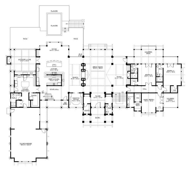 101 Best Dream Home Floor Plans Images On Pinterest