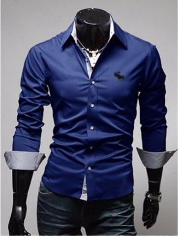 Camisa social masculina slim fit - Compras no site ShopJmix