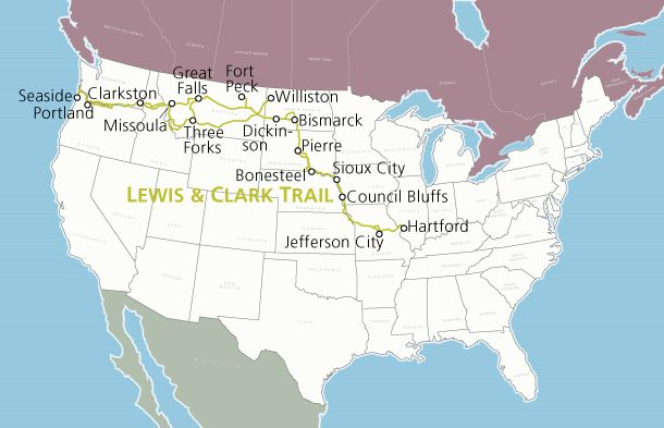 Lewis & Clark Trail | Adventure Cycling Route Network | Adventure Cycling Association