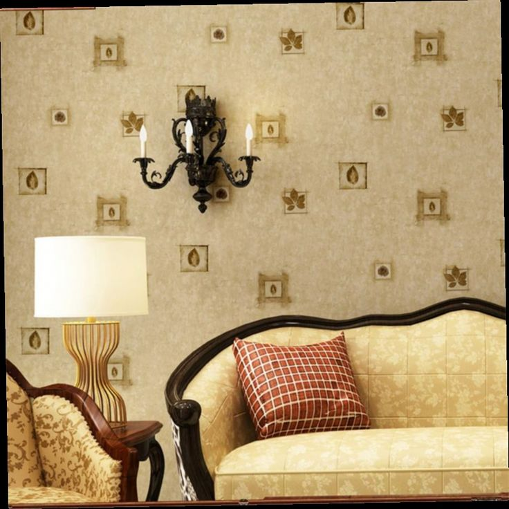 46.50$  Watch now - http://ali7or.worldwells.pw/go.php?t=32766115098 - American Village Retro Elegant Floral Paper Nostalgia Wallpaper Living Room Bedroom TV Wall Background Wallpaper papel de parede