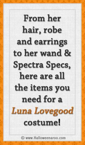 Everything you need for a Luna Lovegood costume