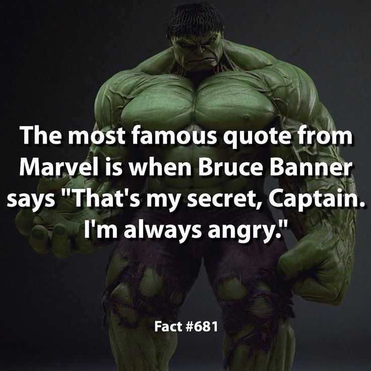 Q: What's your favorite quote from the MCU?  The fact is based on the MCU. by marvelousfacts