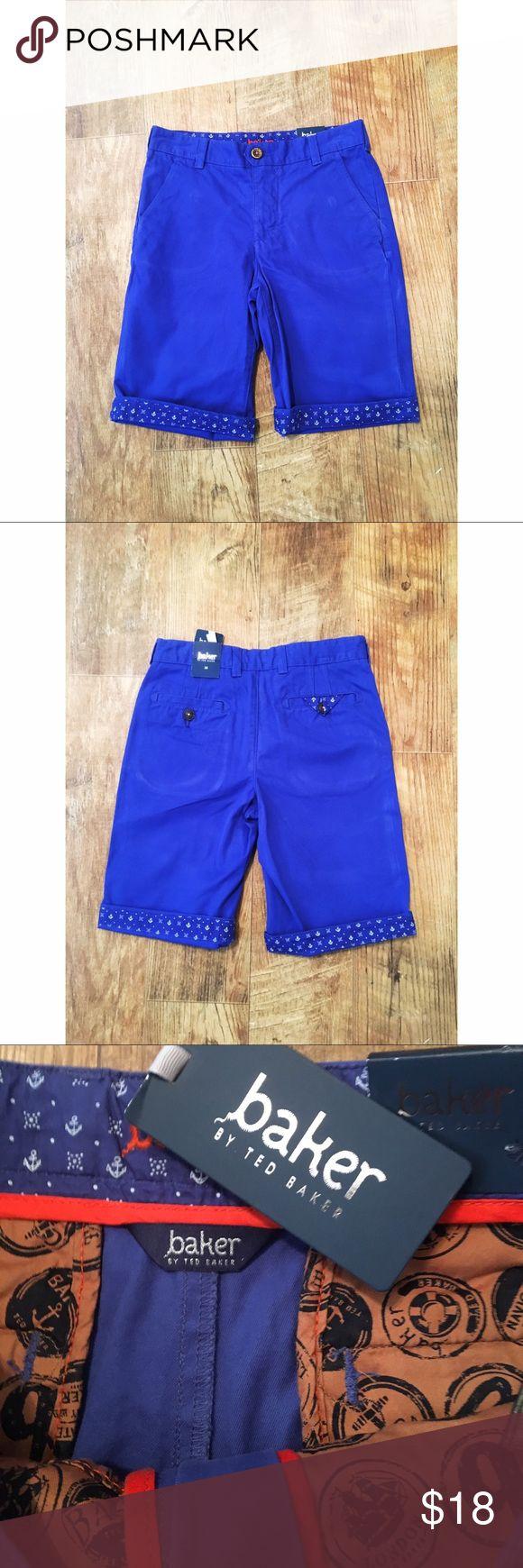 ⚓️ NWT Ted Baker Nautical Shorts ADORABLE • NWT Ted Baker Nautical Shorts ⚓️ Size 12 Baker by Ted Baker Bottoms Shorts