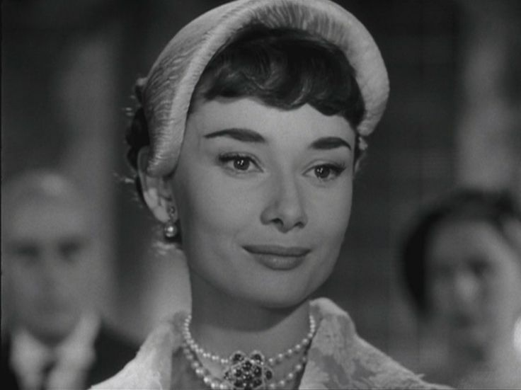 Audrey Hepburn in Vacanze romane di Billy Wilder, 1953 Costumi di Edith Head