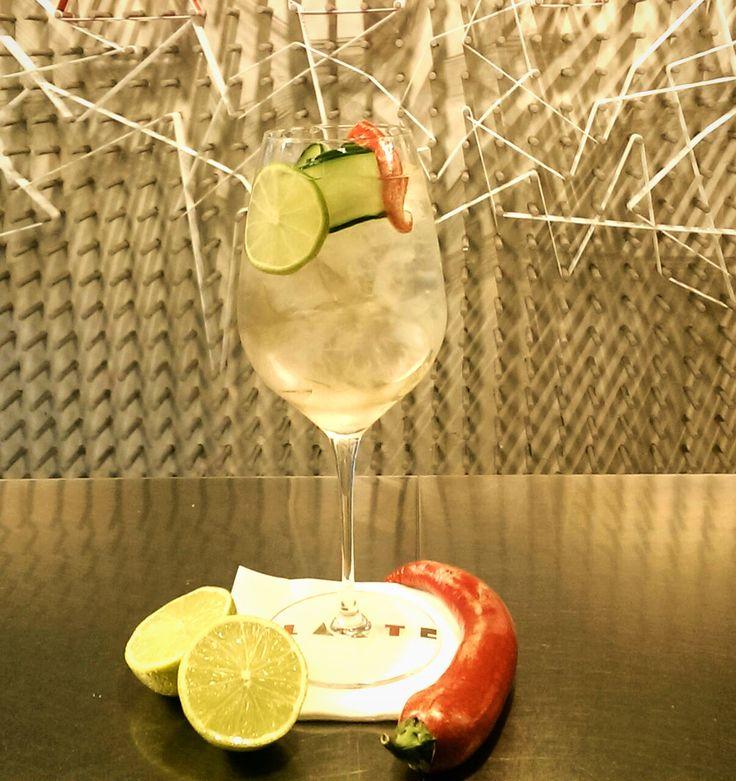 #Taste                                              Pepper Mule Lime juice, #homemade pepper vodka & ginger beer            #drinks #milanocentro #aperitivo #larte #milano #viamanzoni5