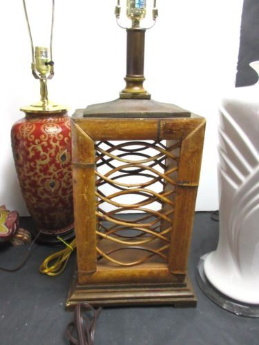 Vintage-Bamboo-Wood-Table-Lamp-FRANKL-ALBINI-MID-CENTURY-TIKI