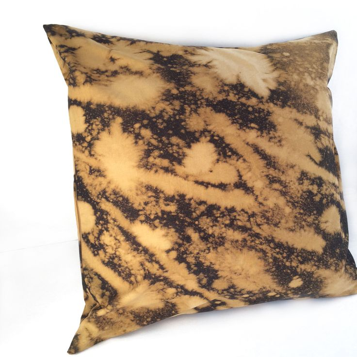 """Hand-Dyed """"Space Burst"""" Pillow - Carrie Joan Studio"""