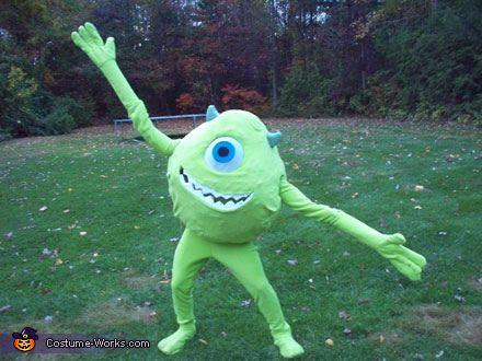 Mike Wazowski Costume - Halloween Costume Contest via @costumeworks