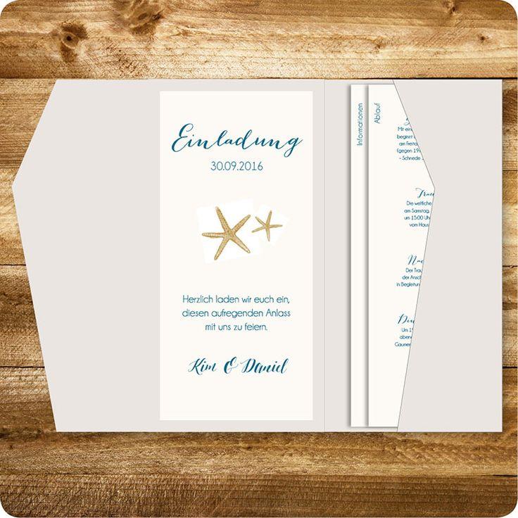 Einladungskarte Maritim, Hamburg, Einladung Für Hochzeit, Individuell  Designed By Die Kartenfrau