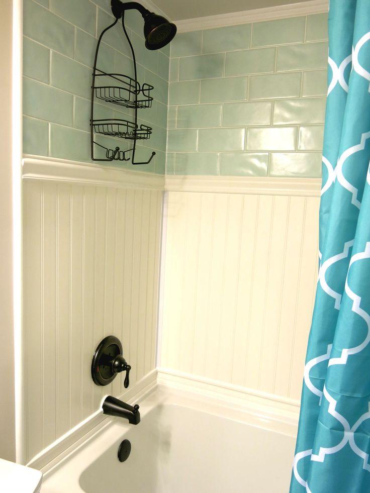 Best 25 pvc beadboard ideas on pinterest pvc bathroom wall panels beadboard in bathroom and for Waterproof ceiling tiles bathroom