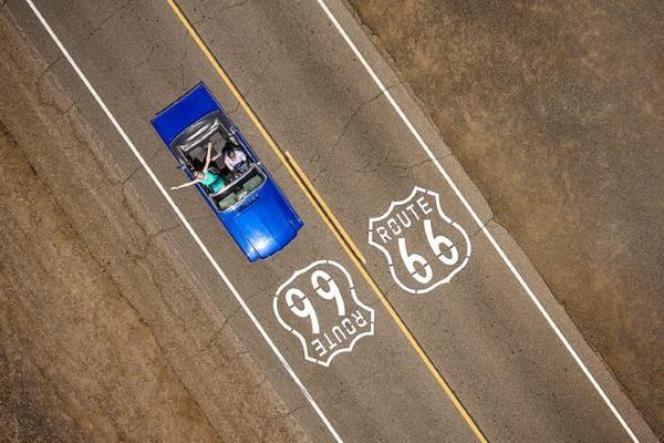 A passeggio sulla Route 66