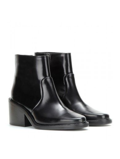 Daxon Leather Ankle Boots www.sellektor.com