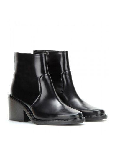 Daxon Leather Ankle Boots www.sellektor.com