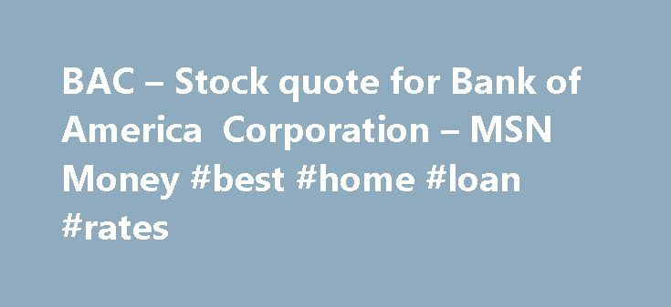 bank of america quote