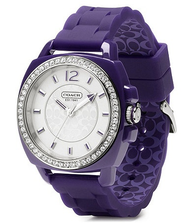 Free shipping and returns on COACH \u0026#39;Boyfriend\u0026#39; Crystal Bezel Watch, at A sparkly pav¨¦ bezel tops a bold watch designed with a trend-right plastic case and ...