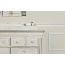 Baby Cache Vienna Changing Topper  Antique White