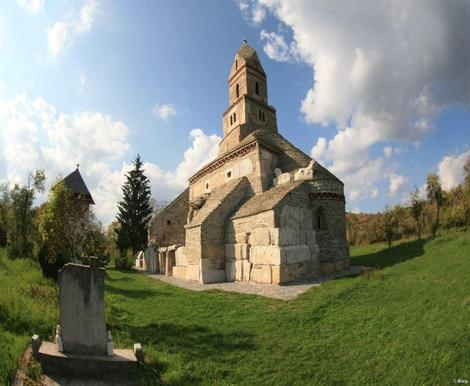 The Densuş Church  in the village of Densuş, Hunedoara County, Romania is one of the oldest Romanian churches still standing.