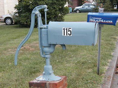 17 best images about funny mailboxes on pinterest unique for Unique mailboxes with post