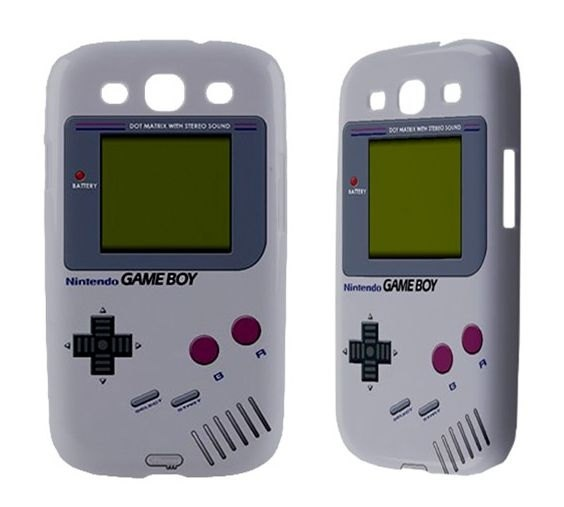 Retro Gameboy Samsung Galaxy S3 Mini S2 Note 2 Siii Sii S i9100 Skyrocket Nexus i9250 Infuse 4G i9000 Ace Plus SL Ativ Game boy Phone Case. $17.50, via Etsy. SO MUCH WANT! !