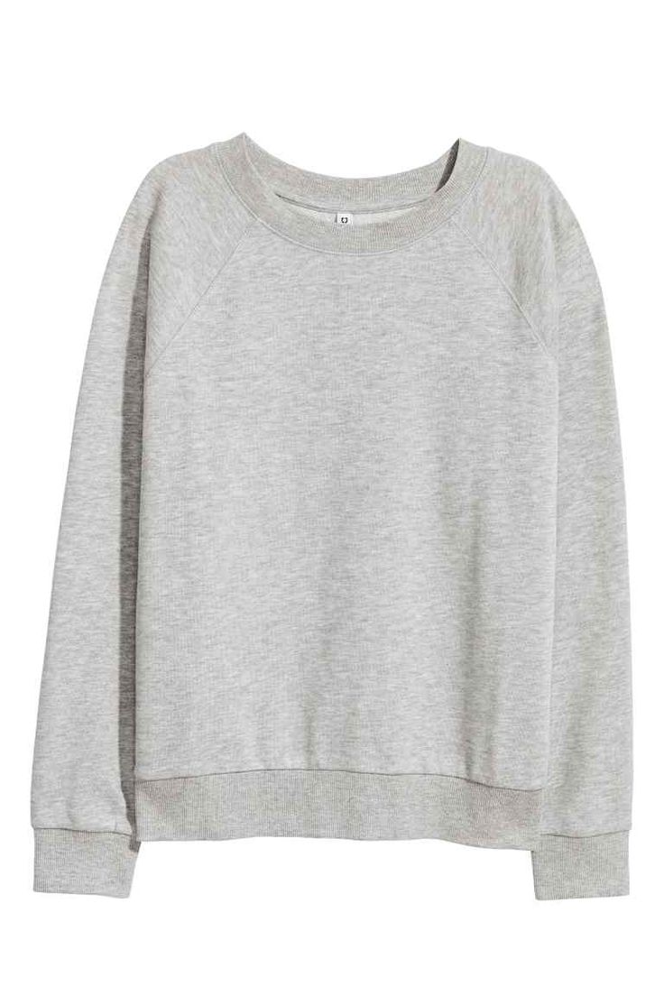 Sweatshirt - Grey marl - Ladies | H&M GB 1