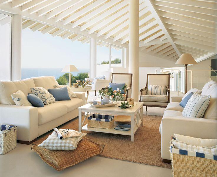 M s de 1000 ideas sobre salones azules en pinterest sala - Casa diez salones ...