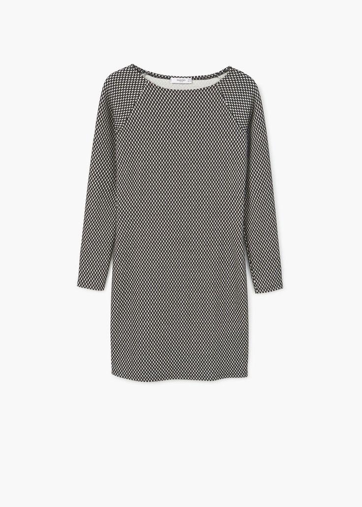 Vestido algodón estampado | MANGO