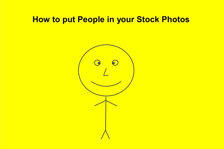 How to put People in your Stock Photos | Stock Photography for Entrepreneurs