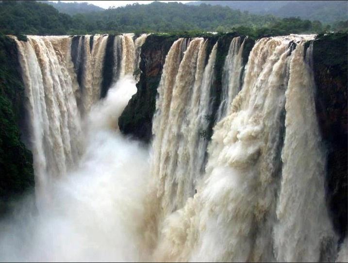 The Jog falls, Karnataka, India