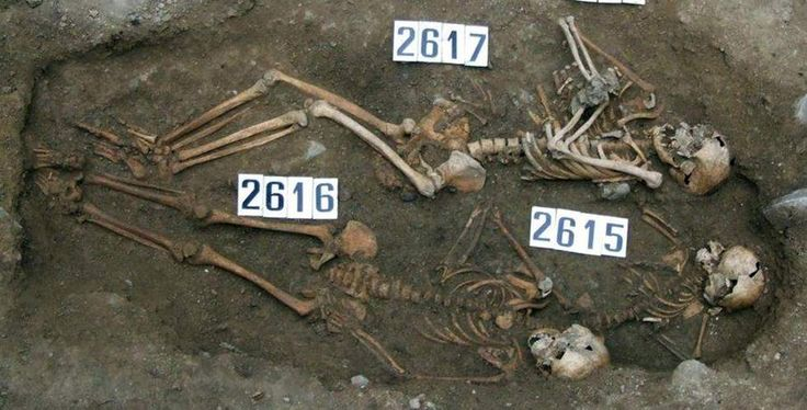 """A 14th century burial ground has yielded an uncommon archaeological case of """"coffin birth,"""" which occurs when a deceased pregnant woman's fetus is expelled within the..."""