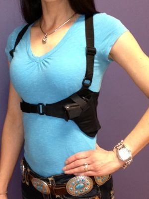 Deep Conceal Lotus for Ladies Body Band Holster