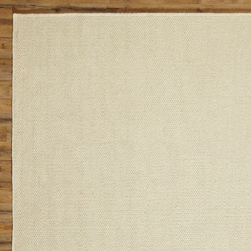 Ava Parchment Solid Rug #birchlane